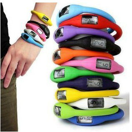 Free ship 500pcs lot Hot Sale 1ATM Waterproof Silicone Watch Negative Ion Sport Watch 20 color instock fast ship