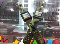Wholesale Lunatik Multi Touch watch band case for nano th Silicone aluminum Taktik Forest Camouflage