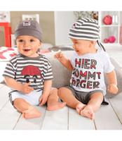 Boy baby boy twins - Twins baby suit short sleeves short pants headband cute style