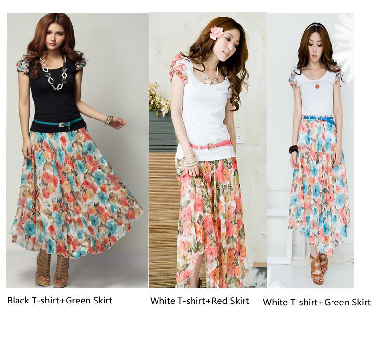 Long Skirt Summer 2013 – images free download