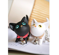 Wholesale 2013 Phone pendant jewelry gift Hot Cat creative keychain cute key chain lovers key ring MAR340