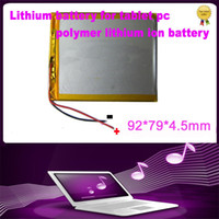 Wholesale 3 V mAH Polymer lithiumion battery for or inch tablet PC ICOO D70pro II Onda Sanei