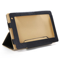 Wholesale Protective Leather Case Cover for inch android Tablet PC Onda Vi10 Black color C1380