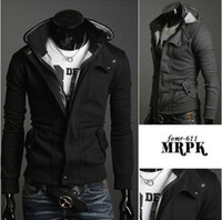 Spring Men's Cotton Outwear Coat Men's Jacket Coat long- slee...