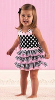 TuTu Summer Pleated Princess girl's dress jumper cake shorts ruffle ribbon pettiskirt tutu baby lace bows dresses gifts