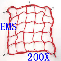 Wholesale 200pcs Motorcycle Helmet Cargo Net Bike Luggage Cargo Boot Net Black Red Blue