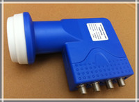 LNB   Ku Band Universal Quad LNBF High quality weather protection Four Receivers Share One LNB Low Noise