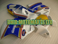Wholesale ABS fairing for VFR800 Interceptor VFR rr VFR blue white