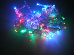 110V 220V 8 different flash 100LED 10M lights fairy Christmas lights holiday light fairy lamps 10 meters