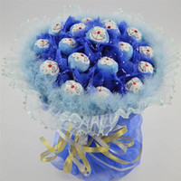 Wholesale Fast shipping Doraemon romantic Cartoon bouquet festive gift birthday gift