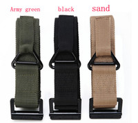 Wholesale Outdoor GEAR HOT brand Blackhawk Tactical Belt CQB Rappelling Belt Outside Strengthening Canvas Waistband