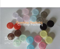 Wholesale Fedex pairs Contact Lens Case lovely Colorful Dual Box Double Case Lens Soaking Case