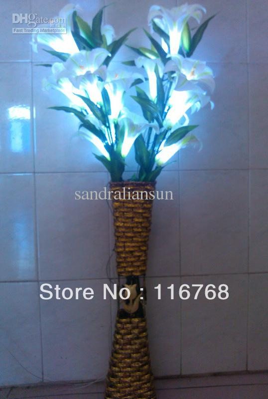 Flower Lights in Vase Flower Light Floor Lamp
