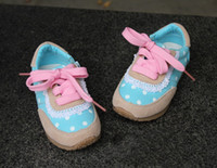 Wholesale China post kids sport shoes girls baby canvas lace Children s girl sneaker sneakers princess shoes