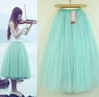 Wholesale 2016 New Womens Stylish Layers Tutu Princess Skirt Petticoat Knee Length Mini Dress Hot