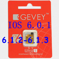Wholesale F981 chip Gevey Ultra S SIM Unlock Card Original rest sim card GSM for iPhone S ios
