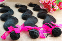 Wholesale 12 quot quot Same Length virgin Brazilian Human hair extensions Queen Hair Products