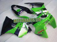 Wholesale FULL KIT fairing for Kawasaki Ninja ZX R ZX R ZX6R green white blue