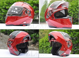 Red color JIEKAI 105 undrape open Face Motorcycle Helmet,motorbike motocross helmet MOTO Racing Helmets ,M L XL XXL