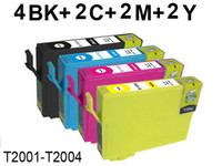 Wholesale 10 ink cartridge for Epson T2001 T2004 XP XP WorkForce WF