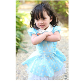 Wholesale 2013 summer fashion sweet doll collar dot print pure100 cotton short sleeve children shirt for girl