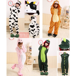 Wholesale Kigurumi Pajamas Animal Pyjamas Cosplay Costume Coral Fleece Animal Sleepwear styles