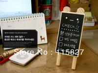 Wholesale Min order mixed items Mini blackboard for shop your home leave message with stand photo accessory