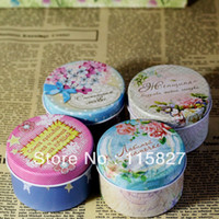 sugar pill - Sima Land mini pill box tin storage mini metal case Jewellery sugar box