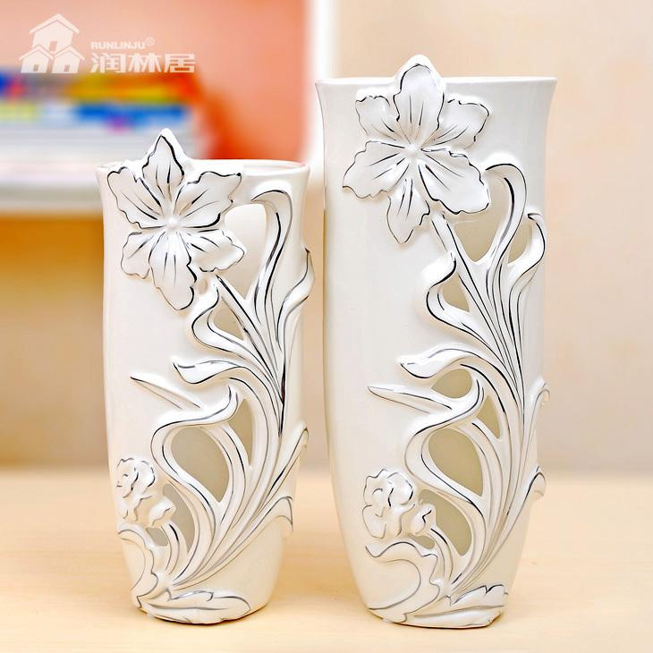 Tips Home Design Ceramic Decorating Vases