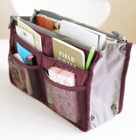 Wholesale Retail Makeup MP3 Phone Storage Organizer Sundry Bags Cosmetics Receive Package Multi Two Zipper Bag