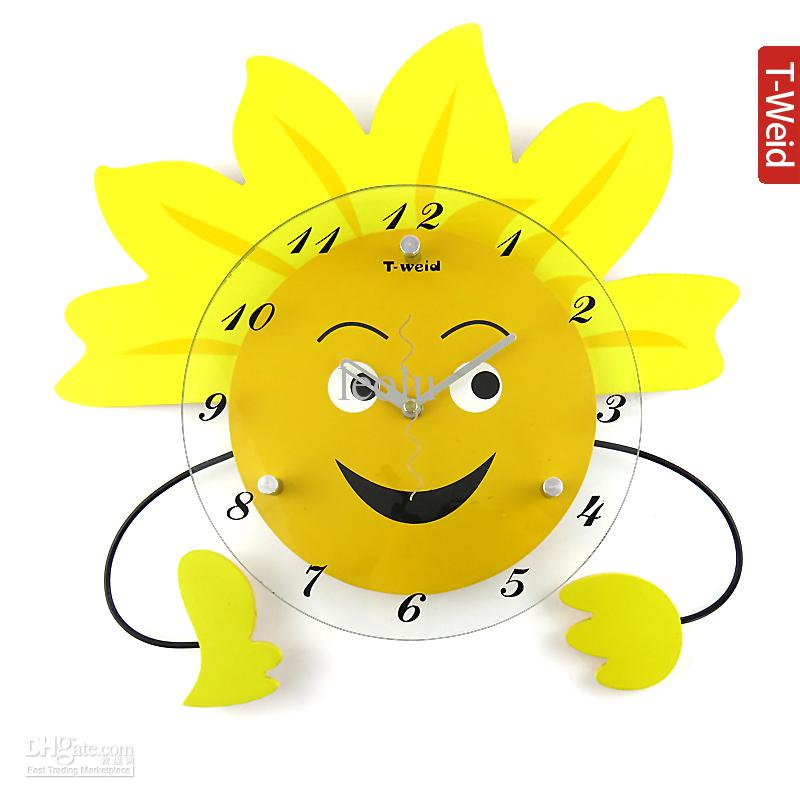 Characters Wall Clock Hammock Clock Cartoon Wall