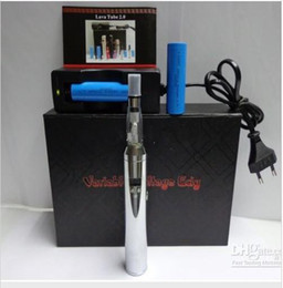 Wholesale Newest Lava Tube Variable Voltage Lavatube E cigarette Kit with x CE4 Atomizer and x mAh