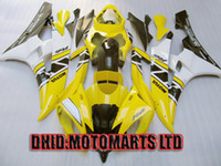 Wholesale FULL KIT fairing for YZF R6 YAMAHA YZF R6 YZFR6 yzf600 yellow white black