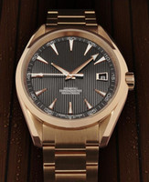 Wholesale Classic Men s mechanical luxury watch brown dial steel band watch