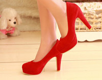 Wholesale 2013 Spring Autumn Hot Water Drill Decoration Women Wedges Shoes Pumps