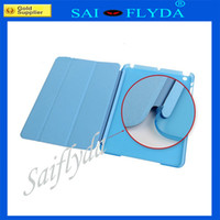Wholesale Folds Front Case back case Smart Cover case folding for quot ipad mini case