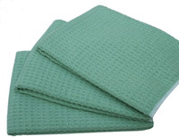 Wholesale 50pcs cmx40cm Fast Drying Microfiber Waffle Weave Dishcloths Kitchen Towels Microfibre Dish Cloth