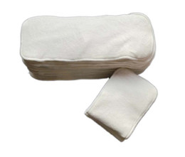 Wholesale Baby Diapers Liners Bamboo Diaper Inserts layer of bamboo and layers of microfiber