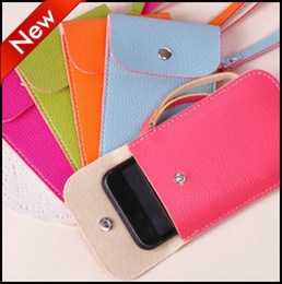 Wholesale Cortex MP3 Cell Phone Cases Iphone Storage Organizer Card Receive Bags Coins Pocket Money Wallet