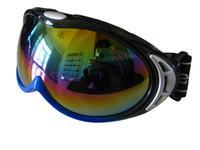 Wholesale Skiing mirror ski eyewear motorcycle goggles outdoor goggles