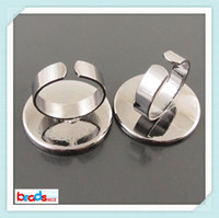 Wholesale Beadsnice ID lead safe nickel free mm fashion ring setting base