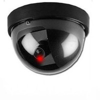 Outdoor CMOS black Free Shipping New LED Light Dummy Fake Joke Home CCTV Security Camera Motion Detector Sensor