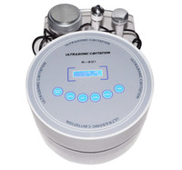 Wholesale 2in1 Desktop Ultrasonic Liposuction Cavitation Slimming Machine Equipment Khz
