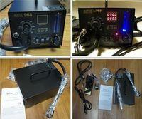 Wholesale DHL free ship Digital Hot Air Rework Station Aoyue SMD in1 Rework Station Soldering Irons V