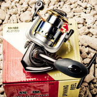 Wholesale KLG3000 Ball Bearing Spinning Reel Fishing Reel Aluminium Handle Reel