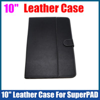 Wholesale Leather Case inch for inch Android Tablet PC ZTpad C93 SuperPAD Flytouch Ainol Onda UMPC