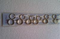 al por mayor 14k anillos de pareja de oro-Nueva Caliente de Cobre Con Oro 14K Par de Anillos de los Amantes de la Joyería del Anillo de Compromiso
