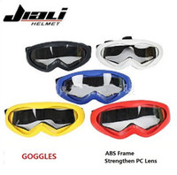 Wholesale Windproof Dustproof Motorcycle Riding Strengthen Goggles Bike Ski Spectacles Outdoor Goggles