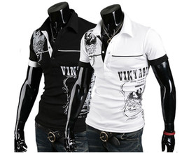 Wholesale 2625 HOT New men s t Shirts Mens Casual English spell color printing short Sleeve T shirts