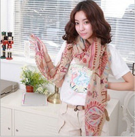 Wholesale 10 Fashion Bohemia Soft Large Long Scarf Shawl Wrap Stole